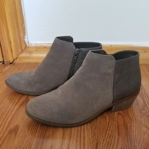 G.H Bass & Co Grey Nina Ankle Booties